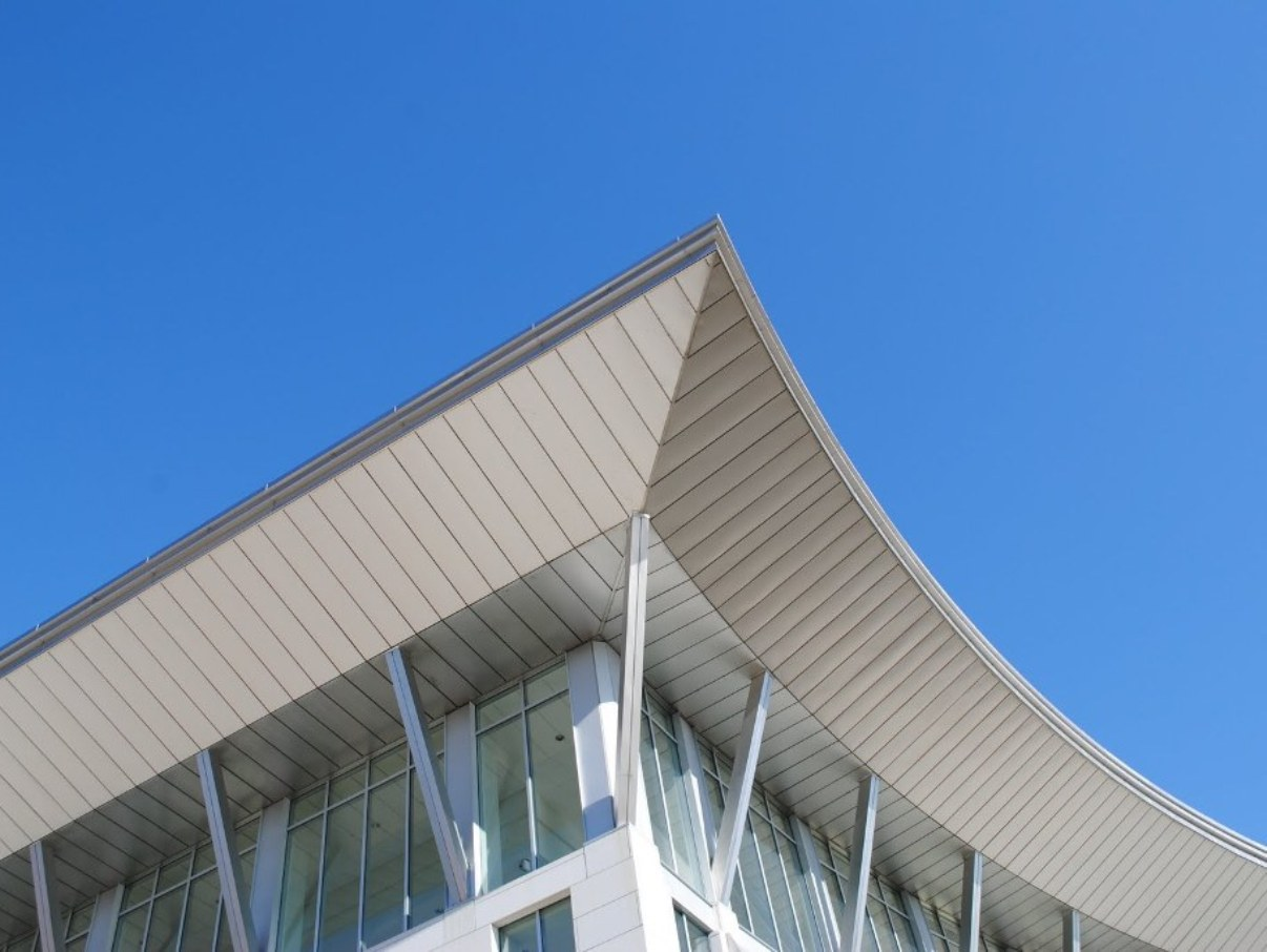 UMASS Boston Campus Center Soffit